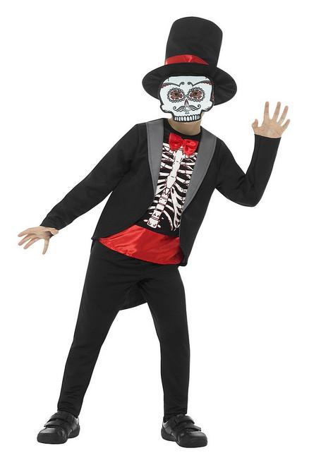 Costume Jour des Morts Garçon