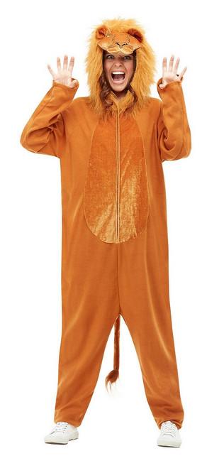 Costume de Lion à Capuche pour Femme