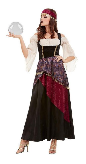 Costume de Diseuse de Bonne Aventure Deluxe pour Femme