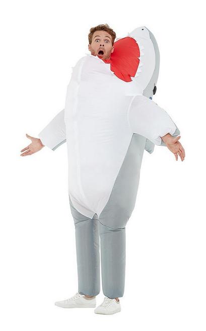 Costume Attaque de Requin Gonflable pour Homme