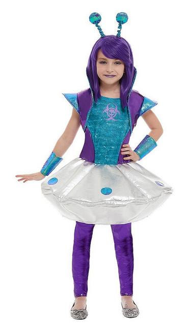 Costume de Fille Extraterrestre