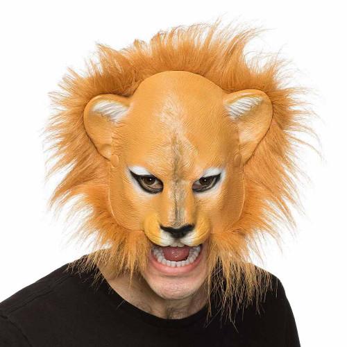Masque de Lion Souple avec Crinière