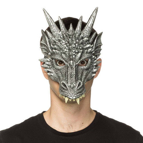 Masque Argenté De Dragon Game of Throne