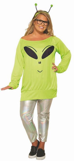 Costume de Femme Extraterrestre Taille Plus