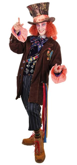 Costume Veste de Chapelier Fou Homme