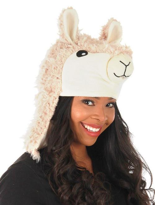 Chapeau jouet Lama cracheur