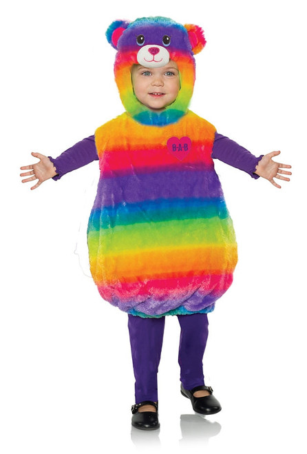 Costume d'Ours Arc-En-Ciel pour Bambins
