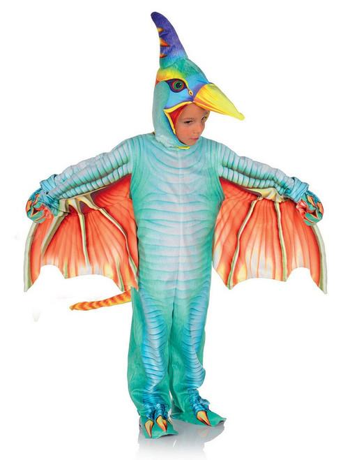Costume de Ptérodactyle Bleu Clair pour Bambin