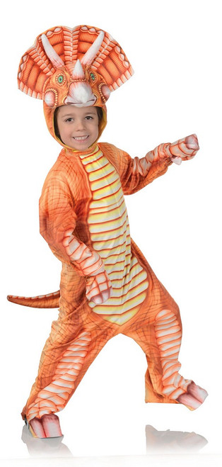 Costume de Triceratops d'Orange