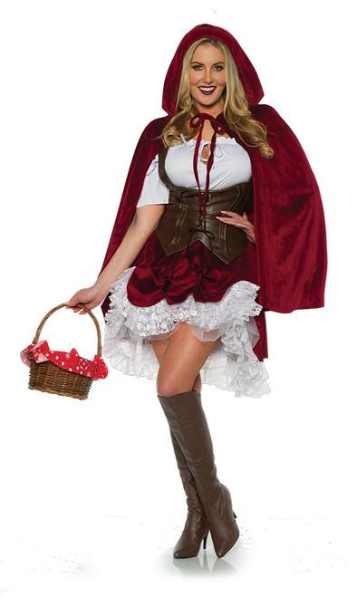 Costume Deluxe de Petit Chaperon Rouge