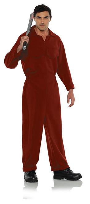 Costume Combinaison de Travail Rouge