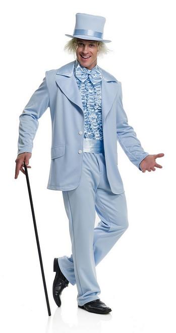 Costume Homme au Smoking Bleu Comique