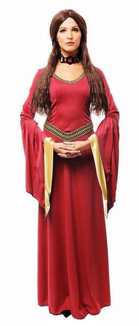Costume de Sorcière Rouge