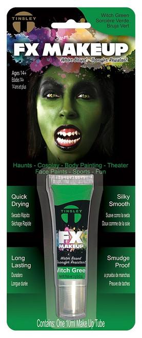 Tube de Maquillage Vert Sorcière