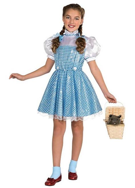 Costume Dorothée Paillettes Pour Fille