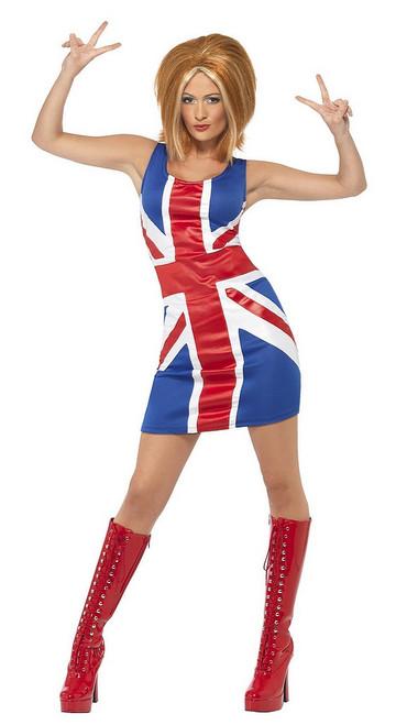 Costume de Ginger des Spice Girls