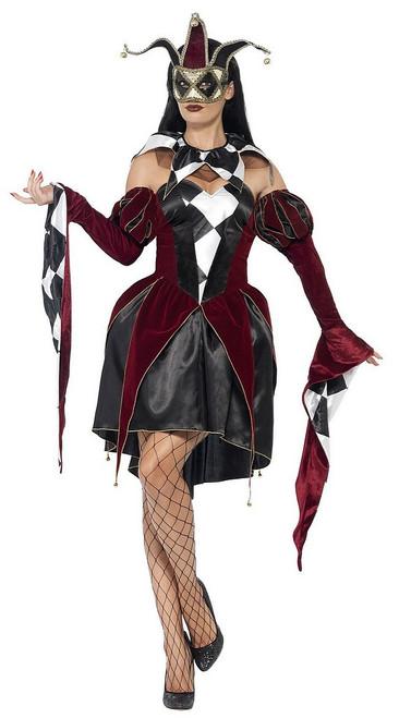 Costume Arlequin Venitien pour Femme