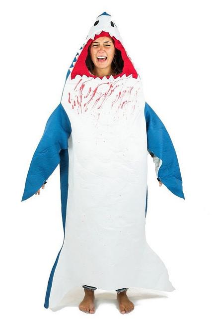 Costume de Requin en Mousse pour Adulte