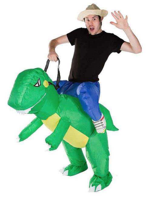 Costume Adulte de T-Rex Gonflable