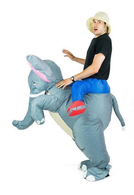 Costume d'Éléphant Gonflable Adulte