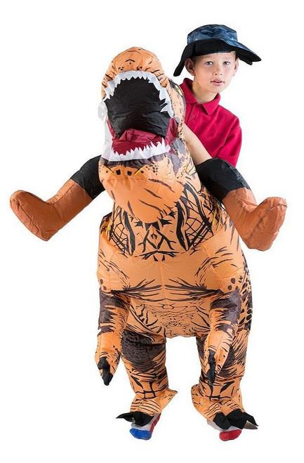 Costume de Dinosaure Deluxe Gonflable Enfant