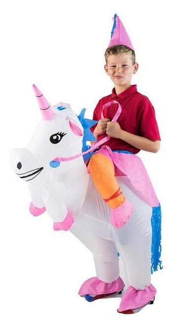 Costume Gonflable de Licorne pour Enfant
