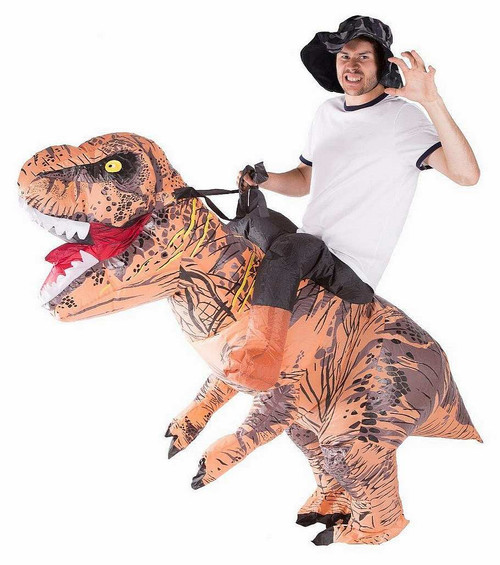 Costume de Dinosaure Deluxe Gonflable Adulte