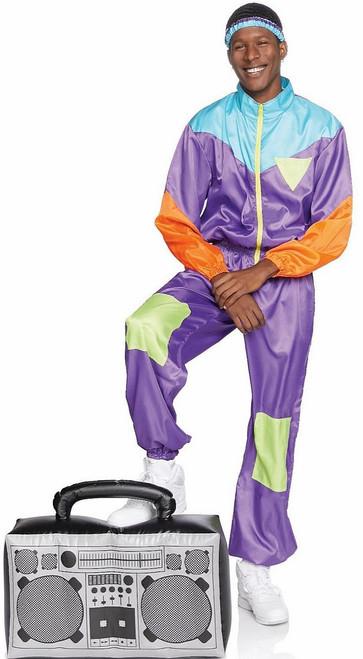 Costume Combinaison de Ski Années 80 Homme