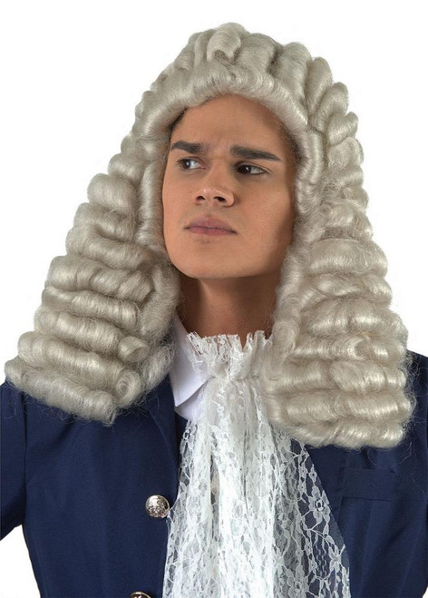 Perruque de Juge Blanche