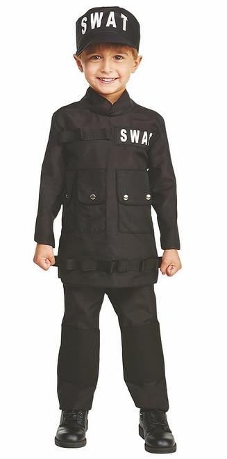 Costume Furtif Du SWAT Pour Garçon