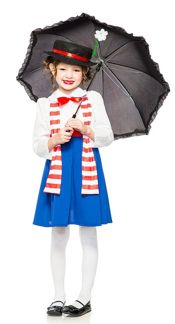 Costume Mary Poppins Filles