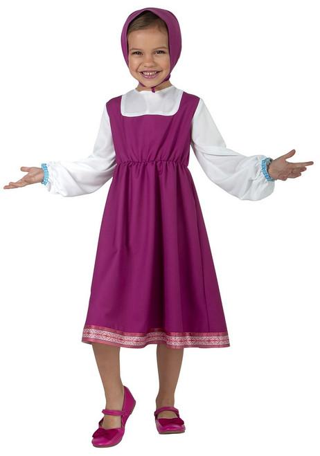 Costume de Masha Nouveau Bambin