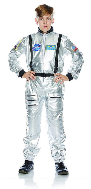 Costume d'Astronaute Argenté pour Garçon