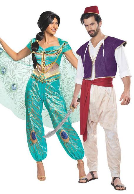 Aladdin et Jasmine 2019 Costume de Couple