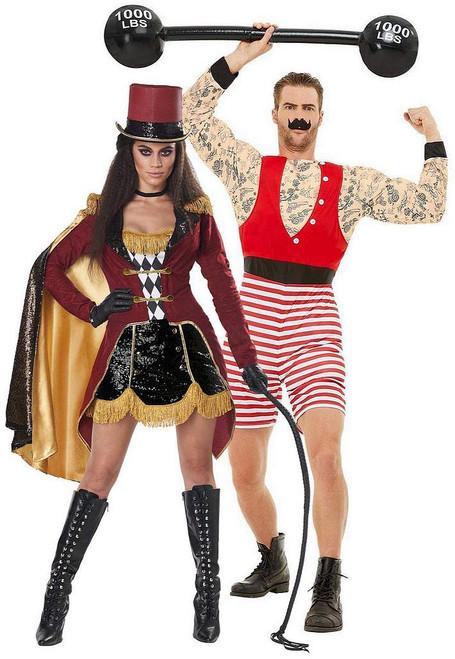 Le plus grand Showman et Strongest Man Ringmaster Couple Costume