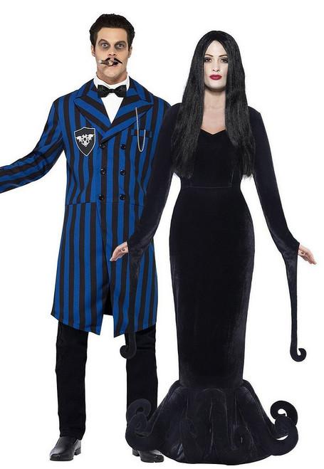 Morticia et Gomez duchesse et le duc du Costume Couple Manor