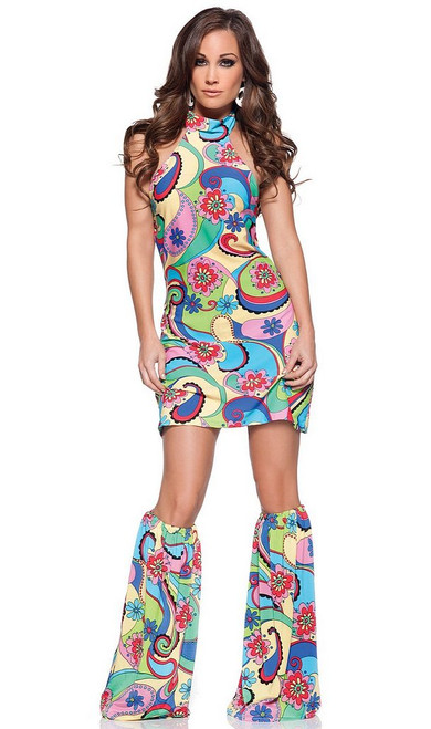 Far Out Hippie Costume Femmes