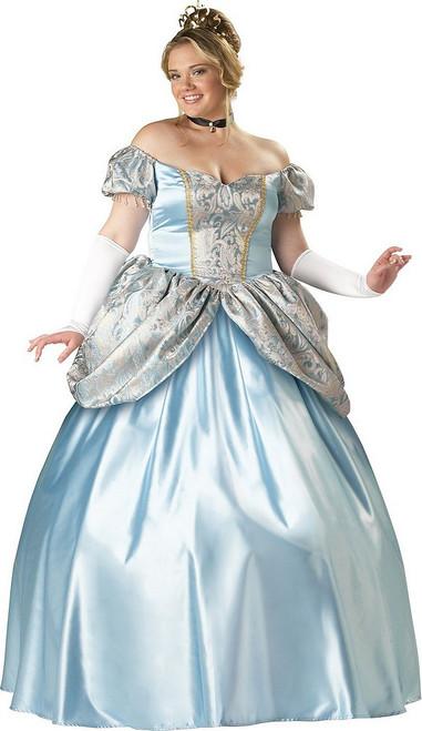Deguisement princesse cendrillon taille plus