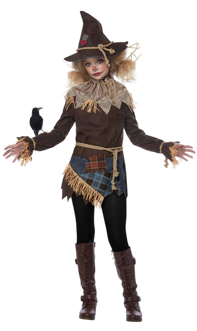 Costume d'Épouvantail effrayant pour préadolescente