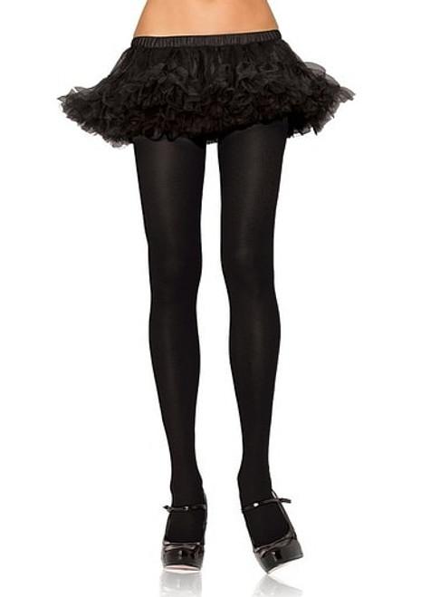 Nylon Spandex Collants Black Queen