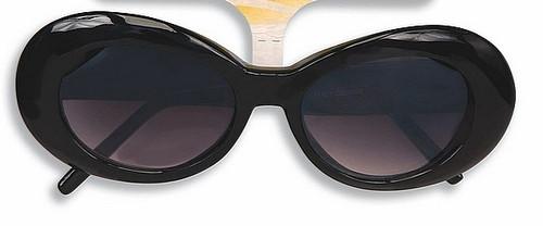 Mod Tinted Black Glasses