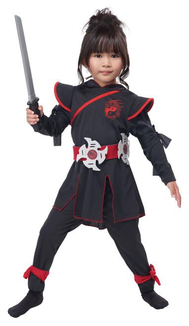 Costumes de Ninja Puissante Filles