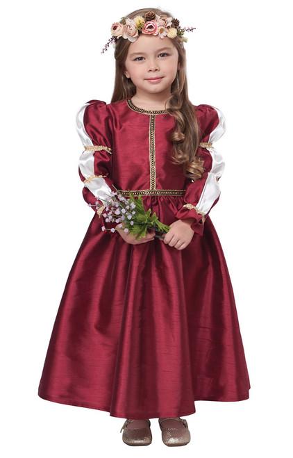 Costume de Princesse Filles Renaissance