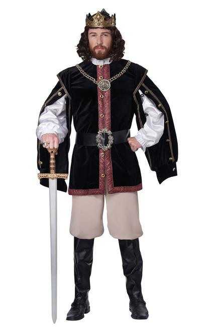 Costume de Roi Renaissance Hommes