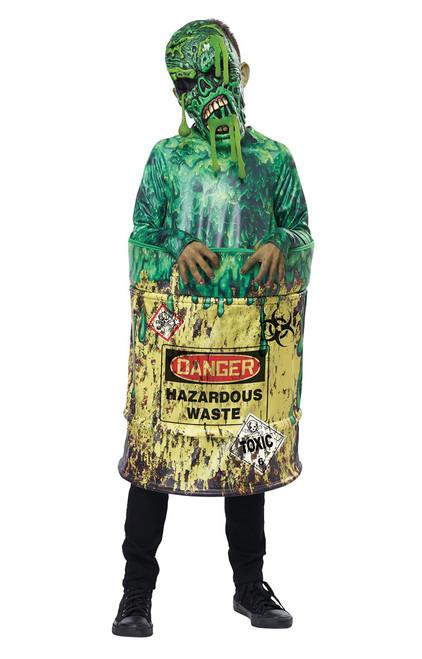 Deguisement de monstre de dechets dangereux enfant