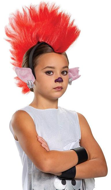 Coiffe Barbie Trolls pour fille