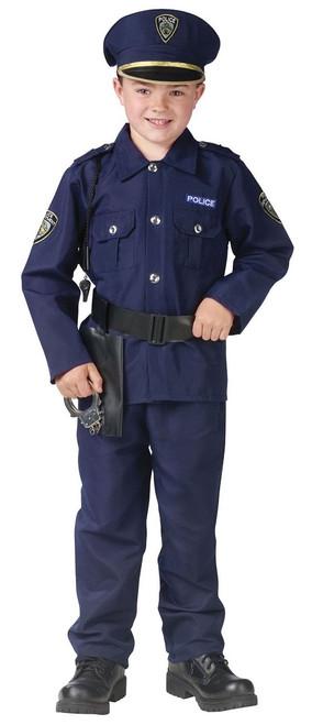 Costume de garcon policier