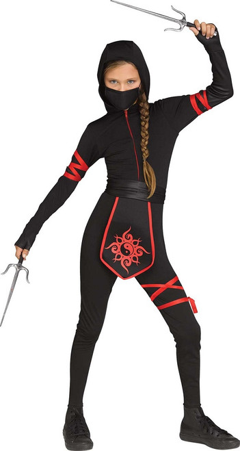 Costume Ninja pour les filles