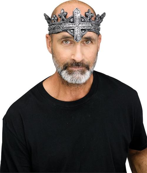 Couronne pour le style gothique du roi medieval