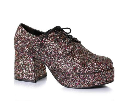 Chaussures disco a paillettes pour hommes